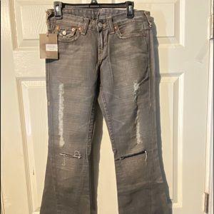 NWT True Religion Bell Bottom pants